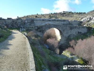 Puentes del Río Manzanares;calcetines senderismo verano;botas senderismo verano